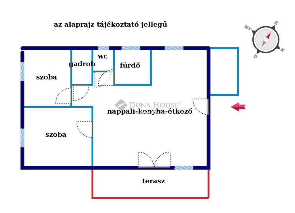 Eladó Lakás, Komárom-Esztergom megye, Komárom